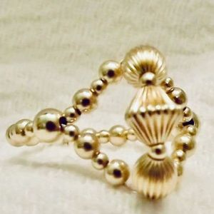 14k Gold-filled Handmade Beaded Ring